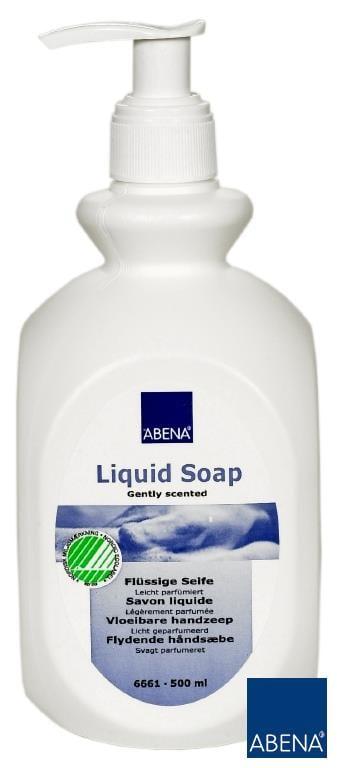 Mydło w płynie ABENA nieperfumowane 500ml