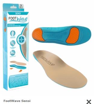 Wkładki FootWave Sensi