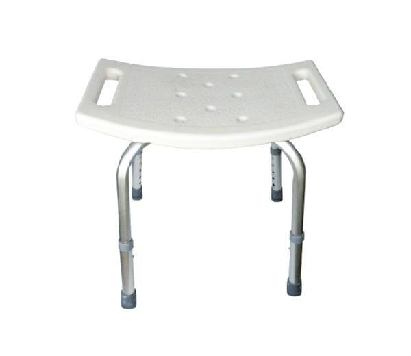 Krzesło prysznicowe bez oparcia