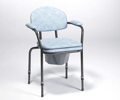 Krzesło toaletowe z regulacją wysokości siedziska 9063 VERMEIREN