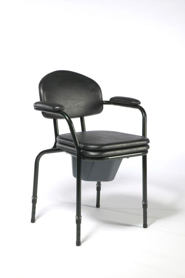 Krzesło toaletowe z regulacją wysokości siedziska 9063 VERMEIREN2