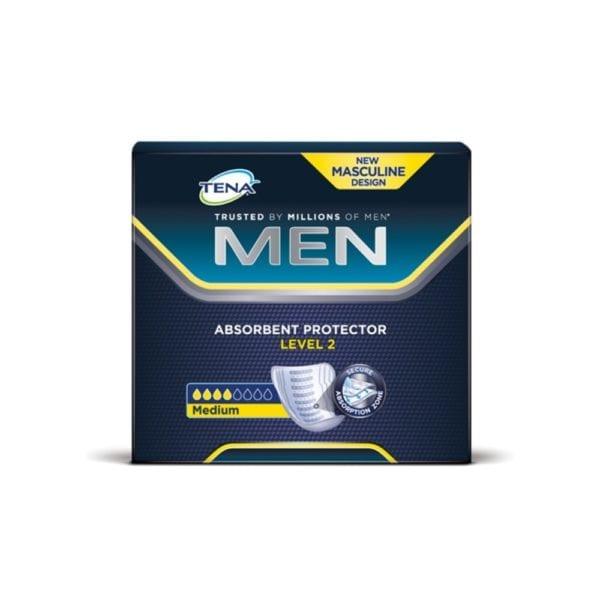 Wkłady Anatomiczne TENA Men Level 2