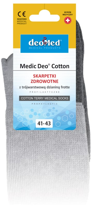 MEDIC DEO COTTON DEOMED