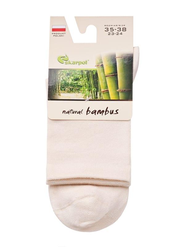 Skarpety z włókna bambusowego SKARPOL