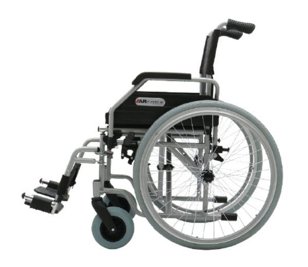 Wózek inwalidzki stalowy OPTIMUM AR 400 ARMEDICAL3
