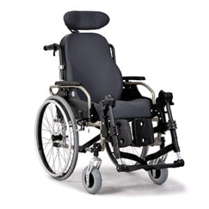 Wózek specjalny o podwyższonym komforcie