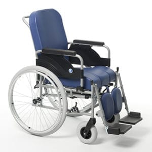 Wózek specjalny z funkcją toalety