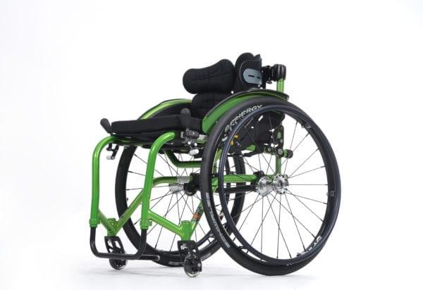 Wózek ze stopów lekkich aktywny SAGITTA VERMEIREN