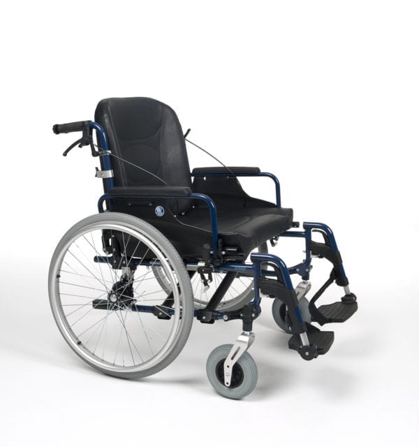 Wózek ze stopów lekkich dla osób ciężkich V300 XL VERMEIREN2